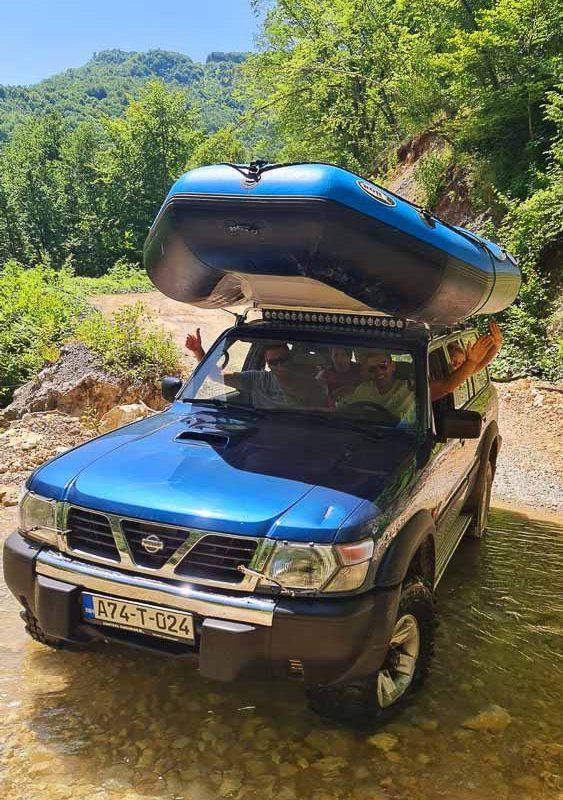Tara rafting
