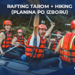 rafting tarom uz hiking avanturu