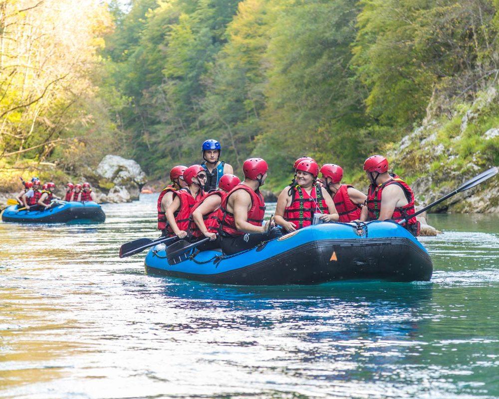 rafting tarom rafting tara team building