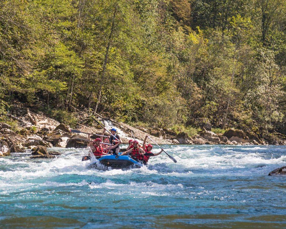 rafting tarom rafting tara spust