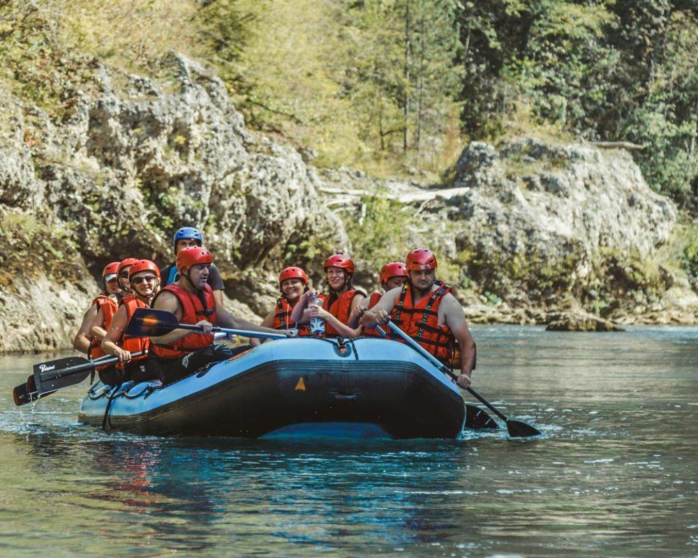 rafting tarom spust