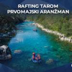 rafting tarom prvomajski aranžman