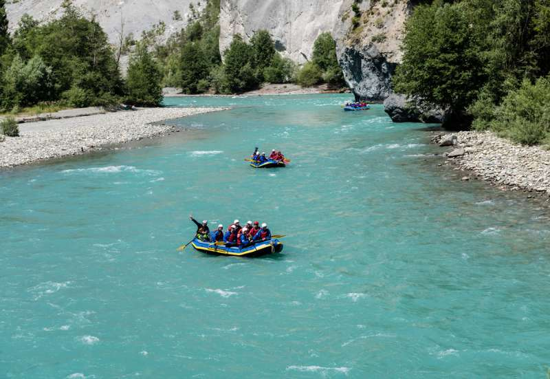 Rajna rafting