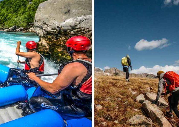 Hiking ili rafting?