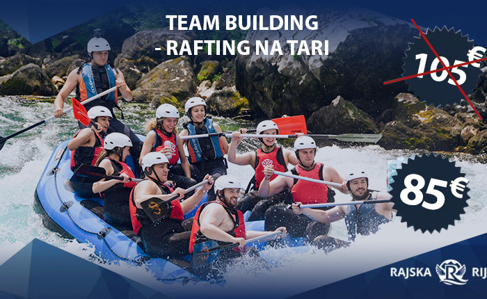 Team building Rafting na Tari